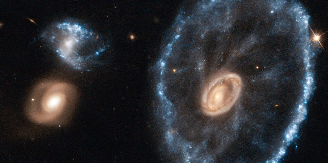 Cartwheel Galaxy (NASA/ESA Hubble)
