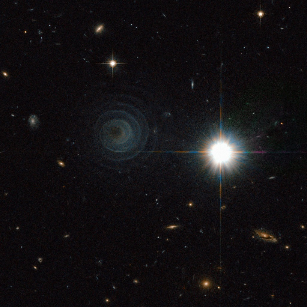 Celestial spiral of a pre-planetary nebula in the constellation of Pegasus (NASA/ESA Hubble)