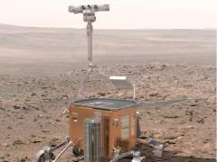 Artist concept of an ExoMars rover (ESA)