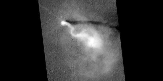 Martian dust devil (NASA/JPL)