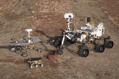 Mars rovers: Sojourner, Spirit/Opportunity, Curiosity (NASA)