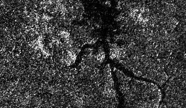 Titan's Nile River (NASA) (thumb)